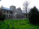 A view of Winchester Cathedral