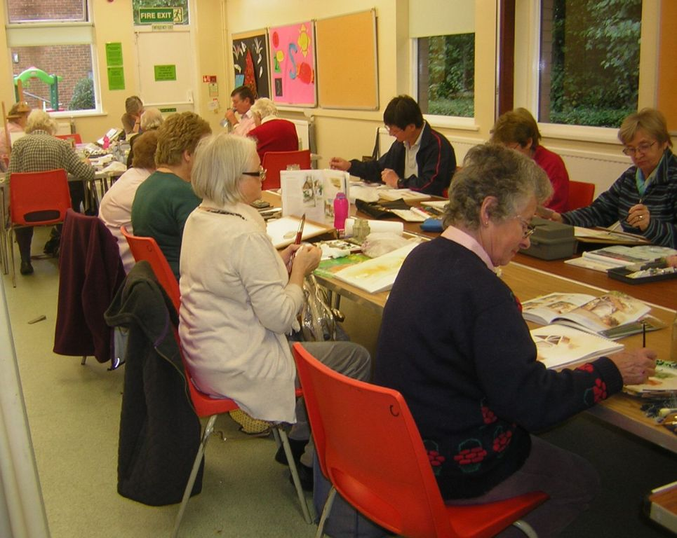The Art Group at Badger Farm Community Centre