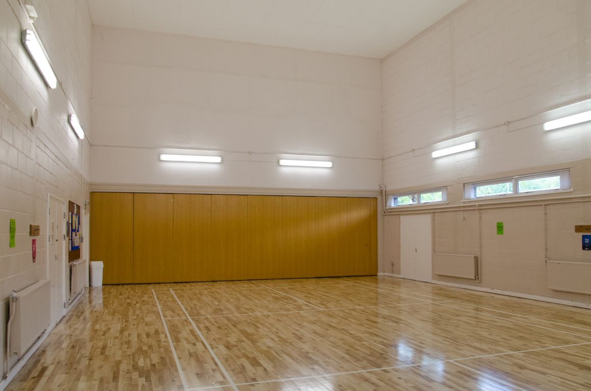 The main hall at the Badger Farm Community Centre