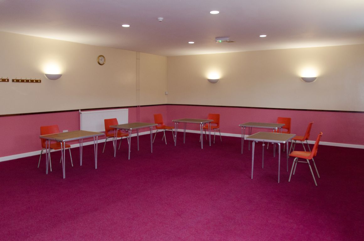 The Bushfield meeting room at the Badger Farm Community Centre