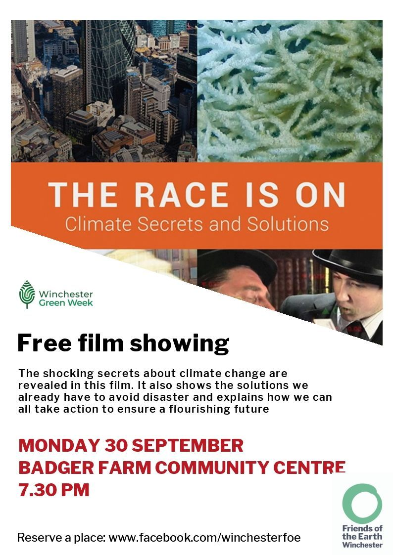Film showing some of the shocking secrets of climate change.