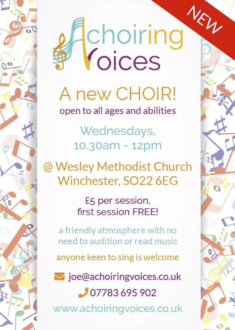 Description of New Choir in Winchester