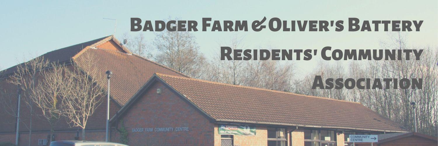 Badger Farm & Oliver's Battery Residents' Community Association