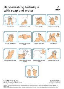 George Gershwin's Summertime Handwashing