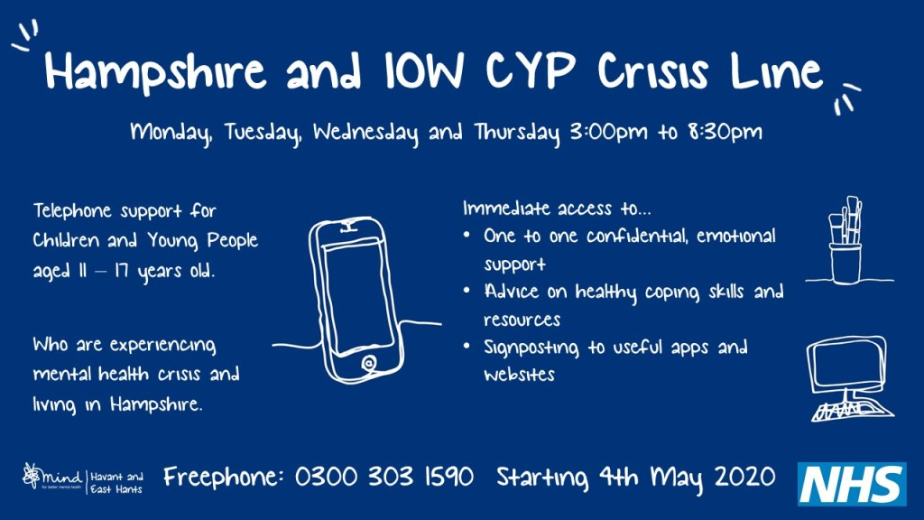 Hampshire IOW Crisis Line