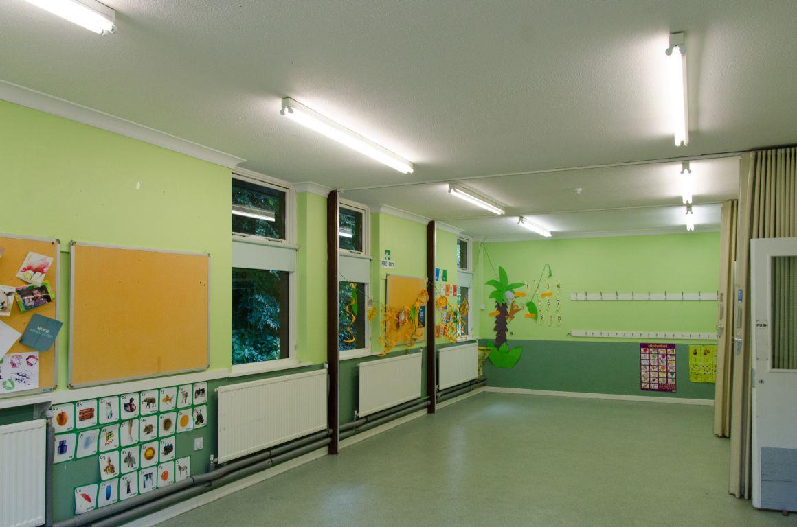 The Whiteshute room at the Badger Farm Community Centre