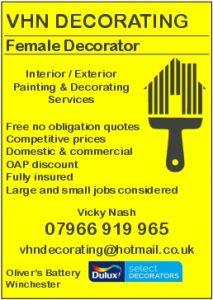 VHN Decorating - Female Decorator - Interior/Exterior Painting and Decorating Services
